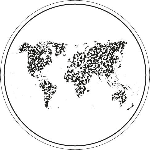 World map probiotics