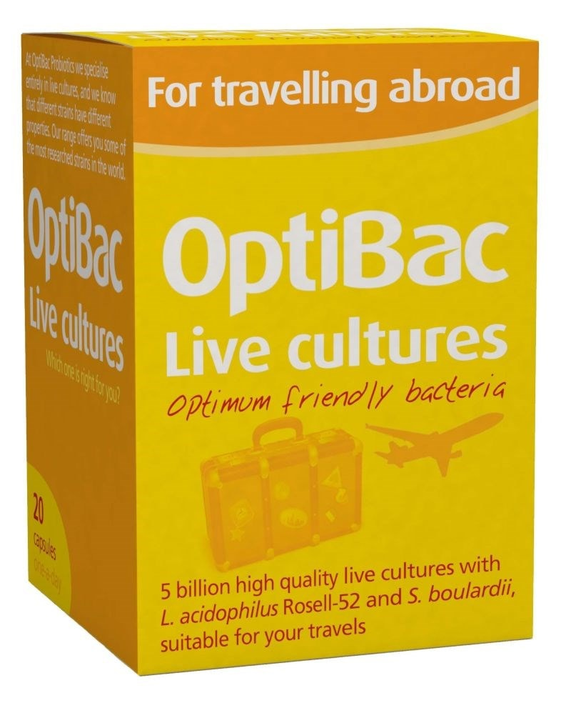 OptiBac Probiotics - 'For travelling abroad'