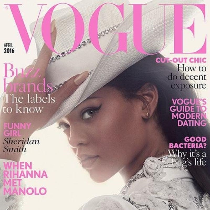 Vogue magazine front cover
