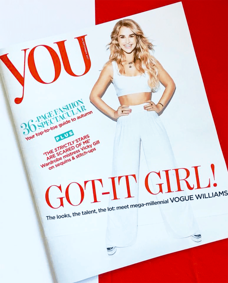 you magazine front cover
