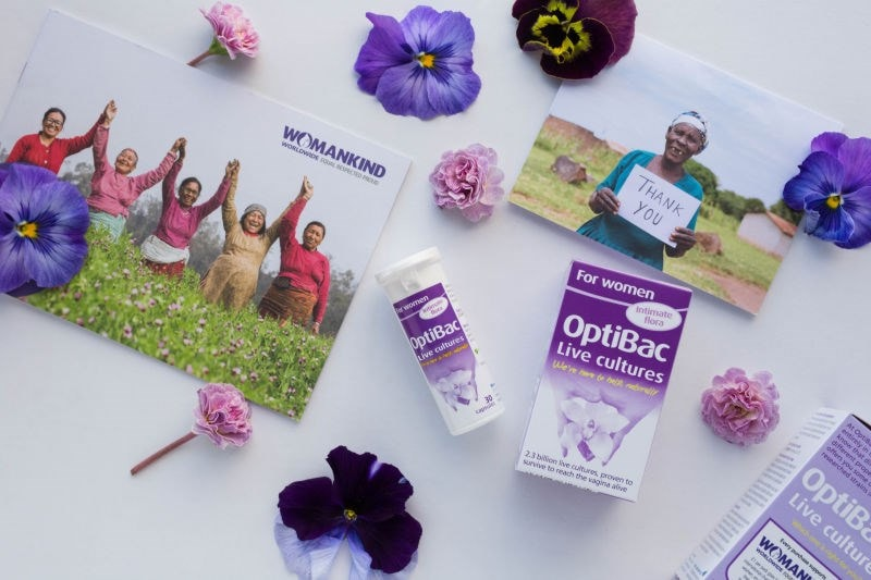 OptiBac For women & Womankind brochure