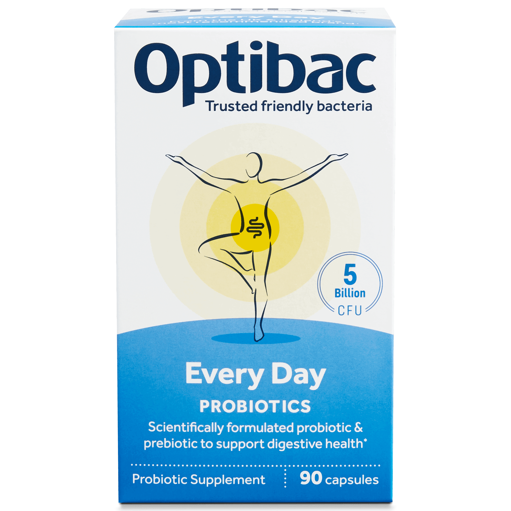 For every day (90 capsules) pack front