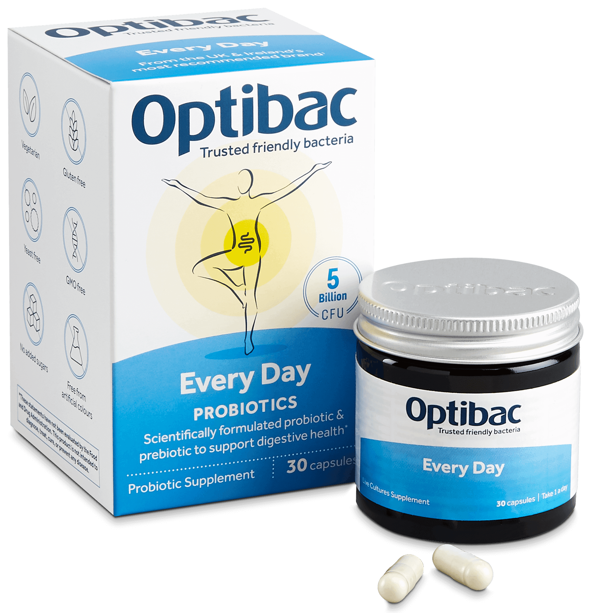Optibac Probiotics | For every day | contents | 30 capsules