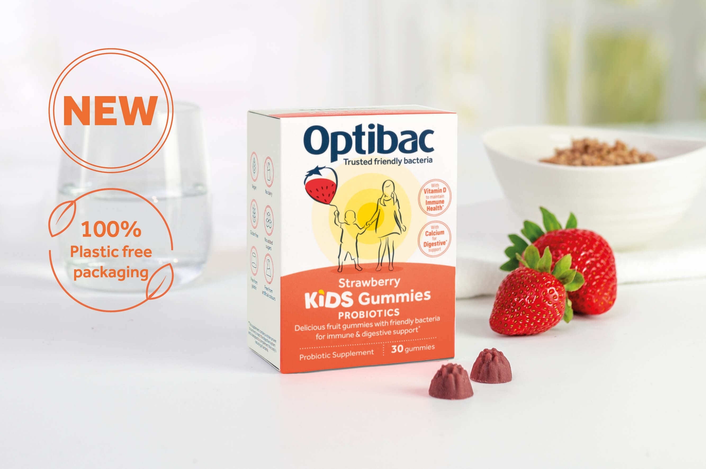 Optibac Probiotics Kids Gummies