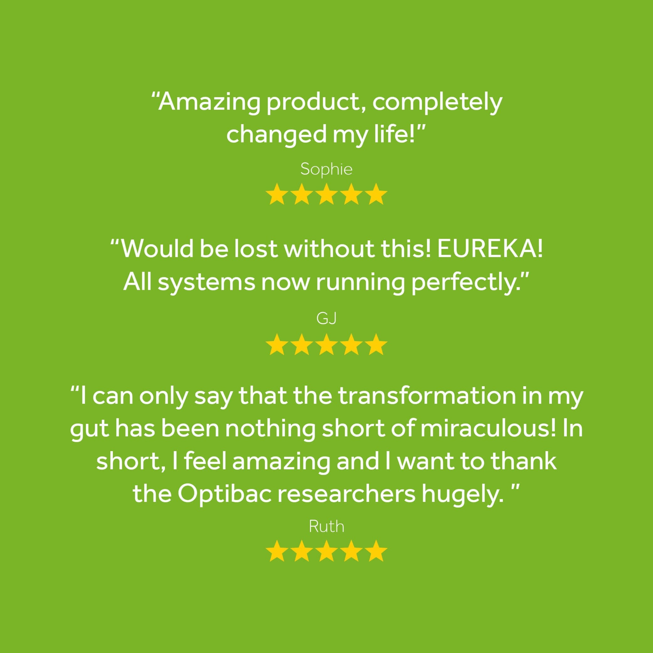 Great reviews of Bifidobacteria & fibre