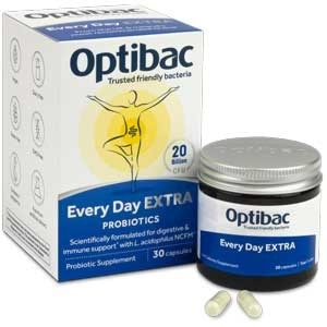 OptiBac probiotics 'For every day EXTRA Strength