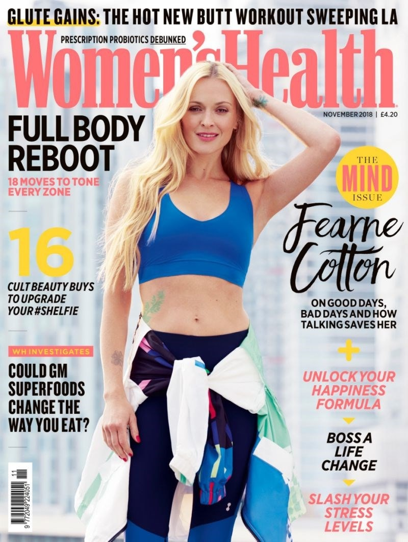 womens health live magazine cover