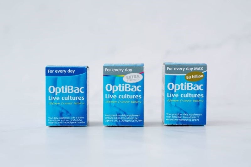 OptiBac daily supplements