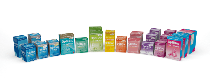 full range of OptiBac live cultures products