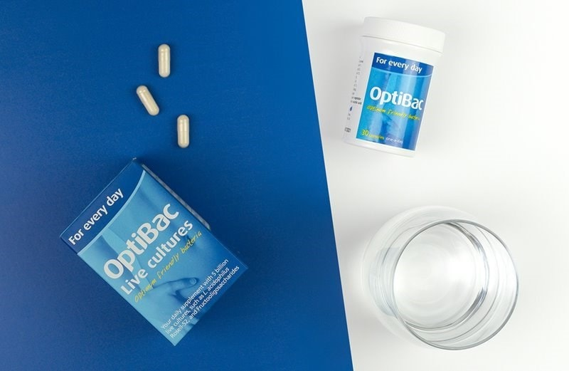 OptiBac For Every Day With Glass